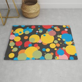 Polka Dots - Graphic Art Rug