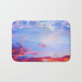 fire clouds v Bath Mat