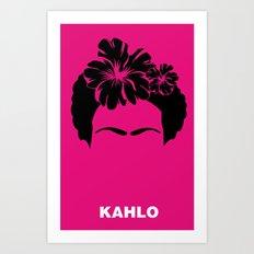 KAHLO Art Print