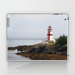 Head Habour Lightstation - Campobello Island New Brunswick Canada Laptop & iPad Skin