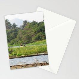 Día de pesca Stationery Cards