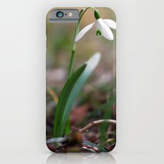 Snowdrop -  Spring Flower Nature Macro Photography iPhone 6s Slim Case