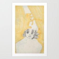 Eyes 01 Art Print