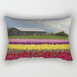 Flower Art - Hope Is by Jordan Blackstone Rectangular Pillow