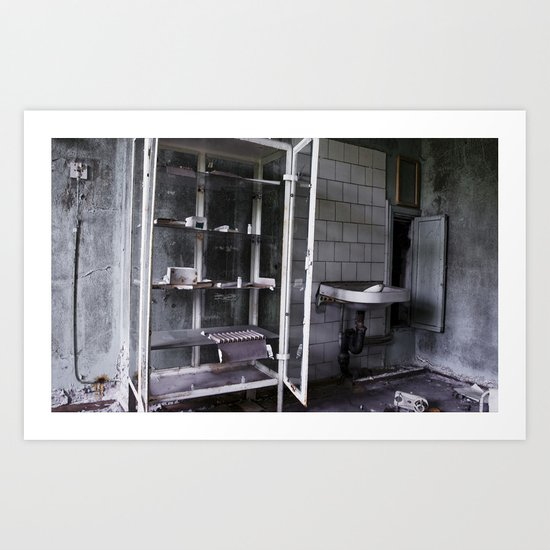 Chernobyl - медикаменти Art Print