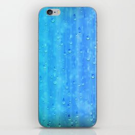Wet Blue iPhone Skin