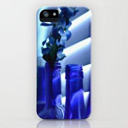 Blue Bottles - 3 iPhone Case