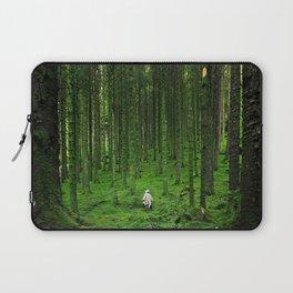 Green Wood Laptop Sleeve