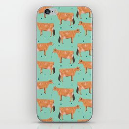 Jerseys - Pale Green // Viridian iPhone Skin