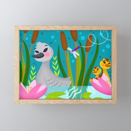 The Ugly Duckling Framed Mini Art Print