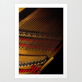 Piano Organs Art Print