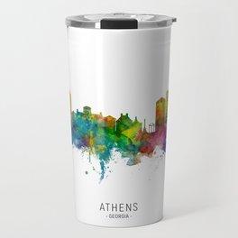 Athens Georgia Skyline Travel Mug