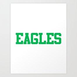 Philadelphia Football Philly Art Print
