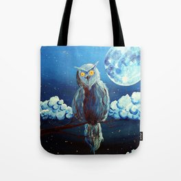 Le veilleur (The gard) Tote Bag
