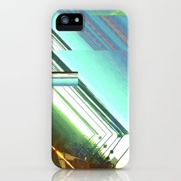 Los Angeles Swells Into Itself iPhone Case