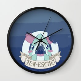 JAWESOME! Wall Clock