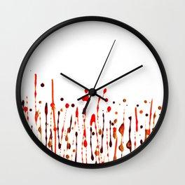 Mama's Crape Myrtle Wall Clock