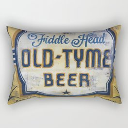 Vermont Brewers Series Fiddlehead Rectangular Pillow