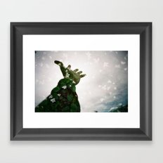 Reach Too Framed Art Print