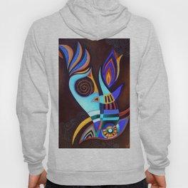 abstract  #218 Hoody