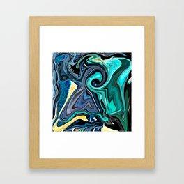 BLUE LOVE SPELL Framed Art Print