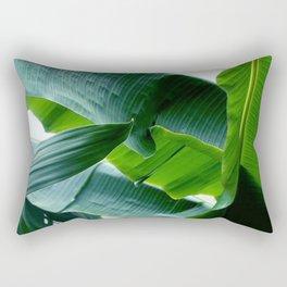 banana green leaf Rectangular Pillow
