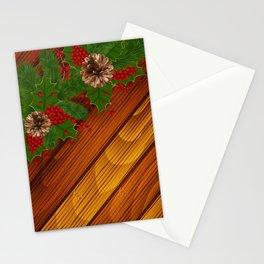Christmas background Stationery Cards