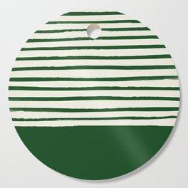 Holiday x Green Stripes Cutting Board