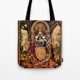 The Lion Queen Tote Bag