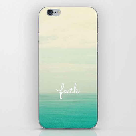 faith iPhone & iPod Skin