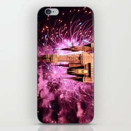 Castle Fireworks iPhone Skin