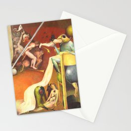 Golf Course In Hell Stationery Cards