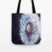weed Tote Bags featuring Weed by Dora Birgis