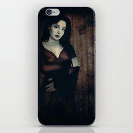Morticia Uncensored iPhone Skin