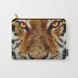 Animal Art - Tiger Carry-All Pouch