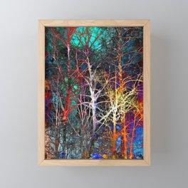 Into the Woods Framed Mini Art Print