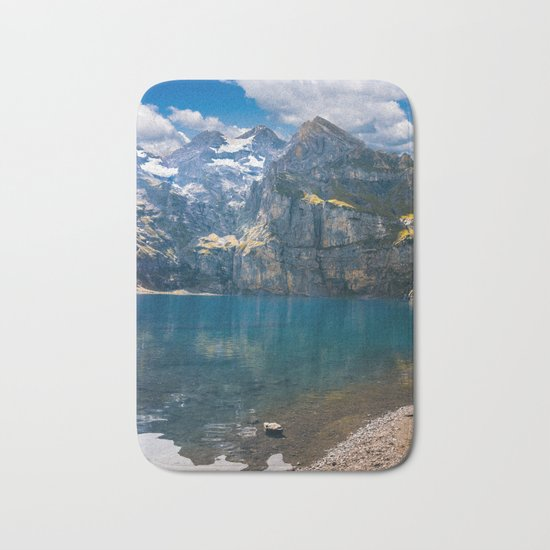 Oeschinen Lake Bath Mat