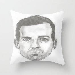 Killers part 3: Lee Harvey Oswald Throw Pillow