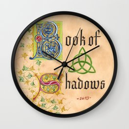 Front Page Gold Version Wall Clock