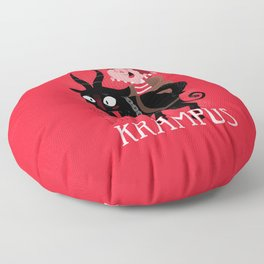 Have fun with Krampus Floor Pillow