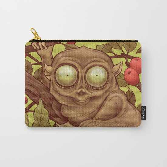 The Caffeinated Tarsier Carry-All Pouch