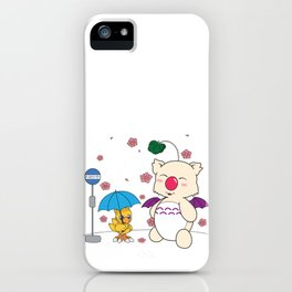 Chocobo's Neighbor. iPhone Case