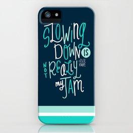 Not My Jam iPhone Case