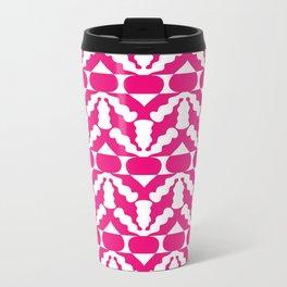 Radish Pop Art Metal Travel Mug