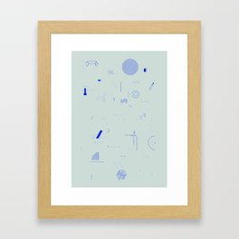 And yet it moves. Framed Art Print