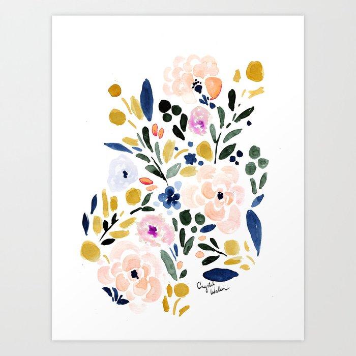Sierra Floral Kunstdrucke