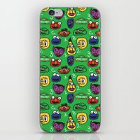 sesame street iPhone & iPod Skins featuring Sesame Street Pattern by MOONGUTS (Kyle Coughlin)