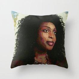 Supernatural: Billie the Reaper Throw Pillow
