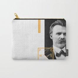 Friedrich Nietzsche - POWER Carry-All Pouch