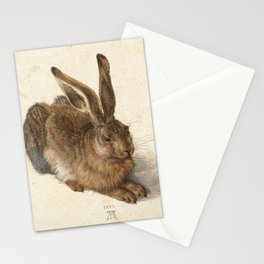 Young Hare Stationery Cards